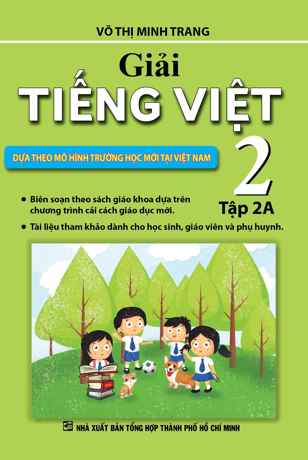 Giải Tiếng Việt 2 Tập 2A - EBOOK/PDF/PRC/EPUB
