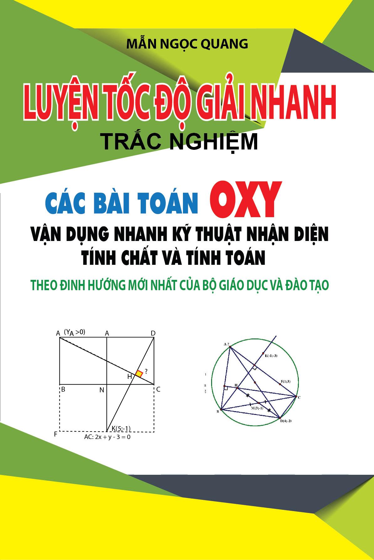 Luyện Tốc Độ Giải Nhanh Trắc Nghiệm Các Bài Toán OXY - EBOOK/PDF/PRC/EPUB