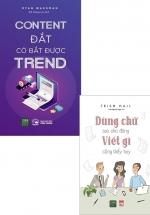 Combo Dùng Chữ Sao Cho Đúng Viết Gì Cũng Thấy Hay + Content Đắt Có Bắt Được Trend (Bộ 2 Cuốn)