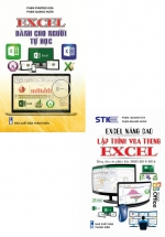 Combo Excel Dành Cho Người Tự Học + Excel Nâng Cao,Lập Trình VBA Trong Excel (Bộ 2 Cuốn)