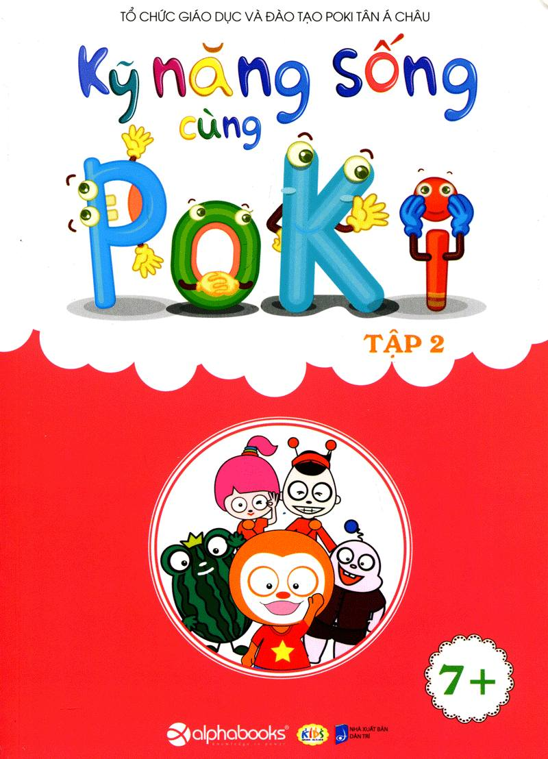 Kỹ Năng Sống Cùng Poki (7+) Tập 2 - EBOOK/PDF/PRC/EPUB