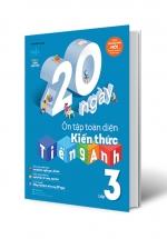 20 Ngày Ôn Tập Toàn Diện Kiến Thức Tiếng Anh Lớp 3