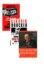 Combo Sách Quản Trị Peter Drucker