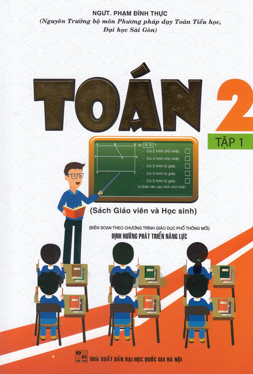 Toán 2 Tập 1 - Sách Giáo Viên Và Học Sinh (Theo Chương Trình Tiểu Học Mới)