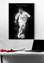 Tranh Treo Tường Cầu Thủ Bóng Đá Eden Hazard