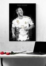 Tranh Treo Tường Cầu Thủ Bóng Đá Eden Hazard Mẫu 3
