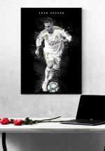 Tranh Treo Tường Cầu Thủ Bóng Đá Eden Hazard Mẫu 4