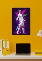 Tranh Treo Tường Cầu Thủ Bóng Đá Cristiano Ronaldo Mẫu 28