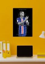 Tranh Treo Tường Cầu Thủ Bóng Đá Thiago Silva
