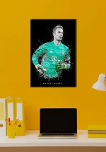 Tranh Treo Tường Cầu Thủ Bóng Đá Manuel Neuer