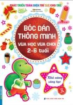 Bóc Dán Thông Minh Vừa Học Vừa Chơi 2-6 Tuổi - Khả Năng Sáng Tạo
