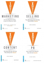 Combo Inbound Marketing + Inbound Selling + Inbound Content + Inbound PR (Bộ 4 Cuốn)