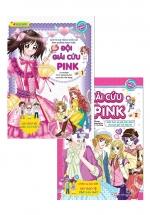 Combo Smart Girls - Đội Giải Cứu Pink (Bộ 2 Cuốn)