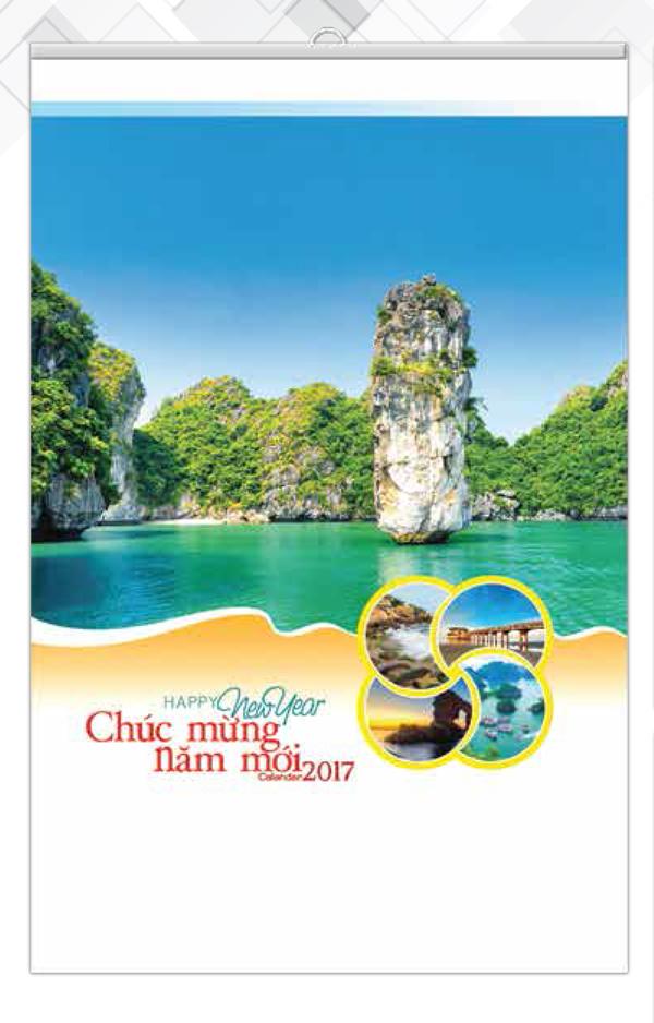 Lịch 5 Tờ Nẹp Thiếc Phong Cảnh Việt Nam VL - 86 - EBOOK/PDF/PRC/EPUB