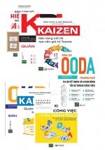 Combo Bộ 7 Cuốn Quản Lý Công Việc, Nhân Sự Hiệu Quả ( OODA-Kaizen-Kanban-PDCA-ORK-KPI-AGILE)