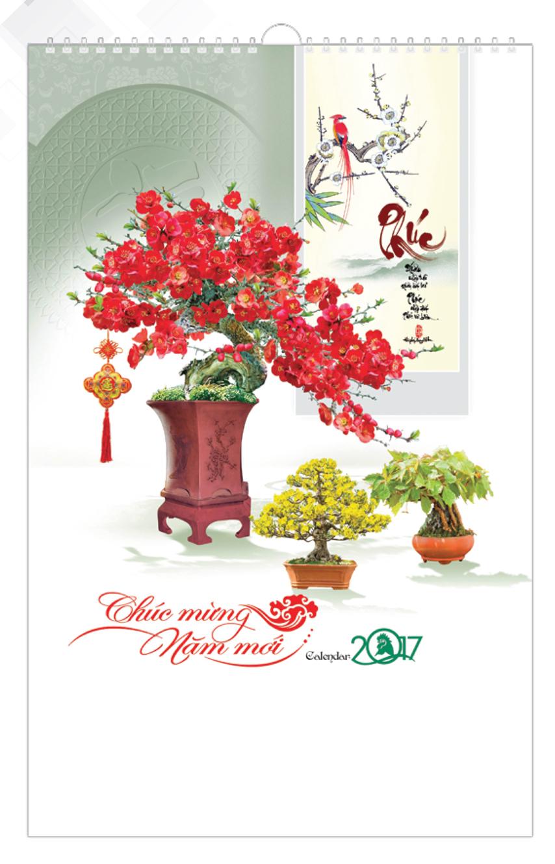Lịch Tết 7 Tờ Lò Xo Bon Sai VL - 80 - EBOOK/PDF/PRC/EPUB
