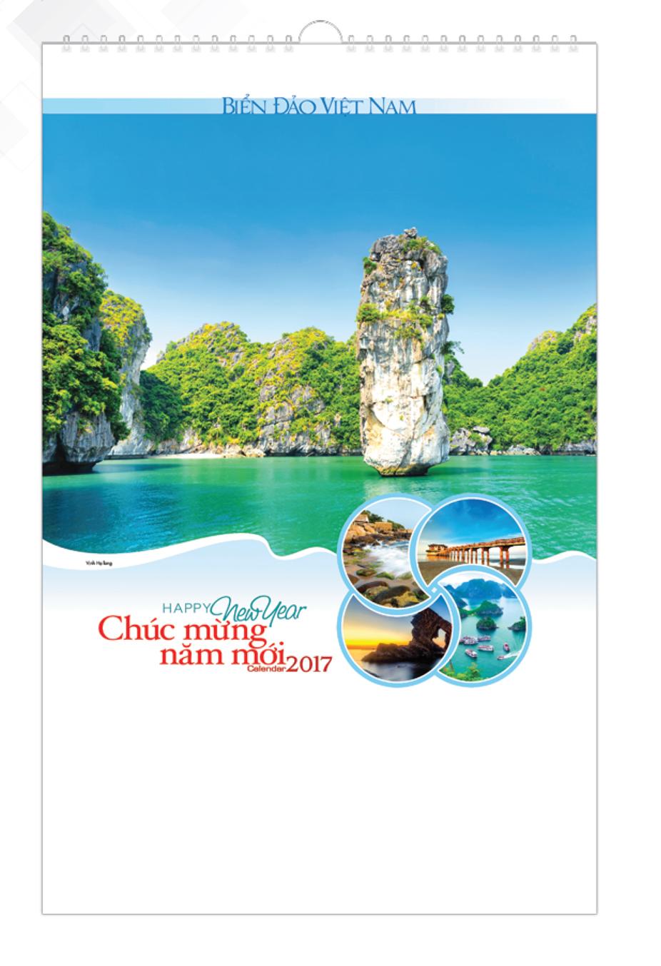 Lịch Tết 7 Tờ Lò Xo Biển Đảo Việt Nam VL - 75 - EBOOK/PDF/PRC/EPUB