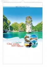 Lịch Tết 7 Tờ Lò Xo Biển Đảo Việt Nam VL - 75