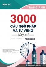 3000 Câu Ngữ Pháp - Từ Vựng Tiếng Anh Hay Sai