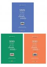Combo Tập Sách Song Ngữ - 999 Lá Thư Gửi Cho Chính Mình (Bộ 3 Quyển)