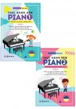 Combo Thực Hành Đệm Piano - Chủ Đề: Ca Khúc Thiếu Nhi (Bộ 2 Cuốn)