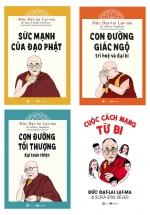Combo Sách Của Đức Đạt-Lai Lạt-Ma (Bộ 4 Cuốn)