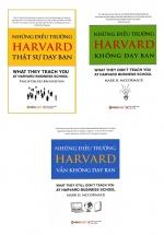 Combo Những Điều Trường HARVARD Không Dạy Bạn (Bộ 3 Quyển)