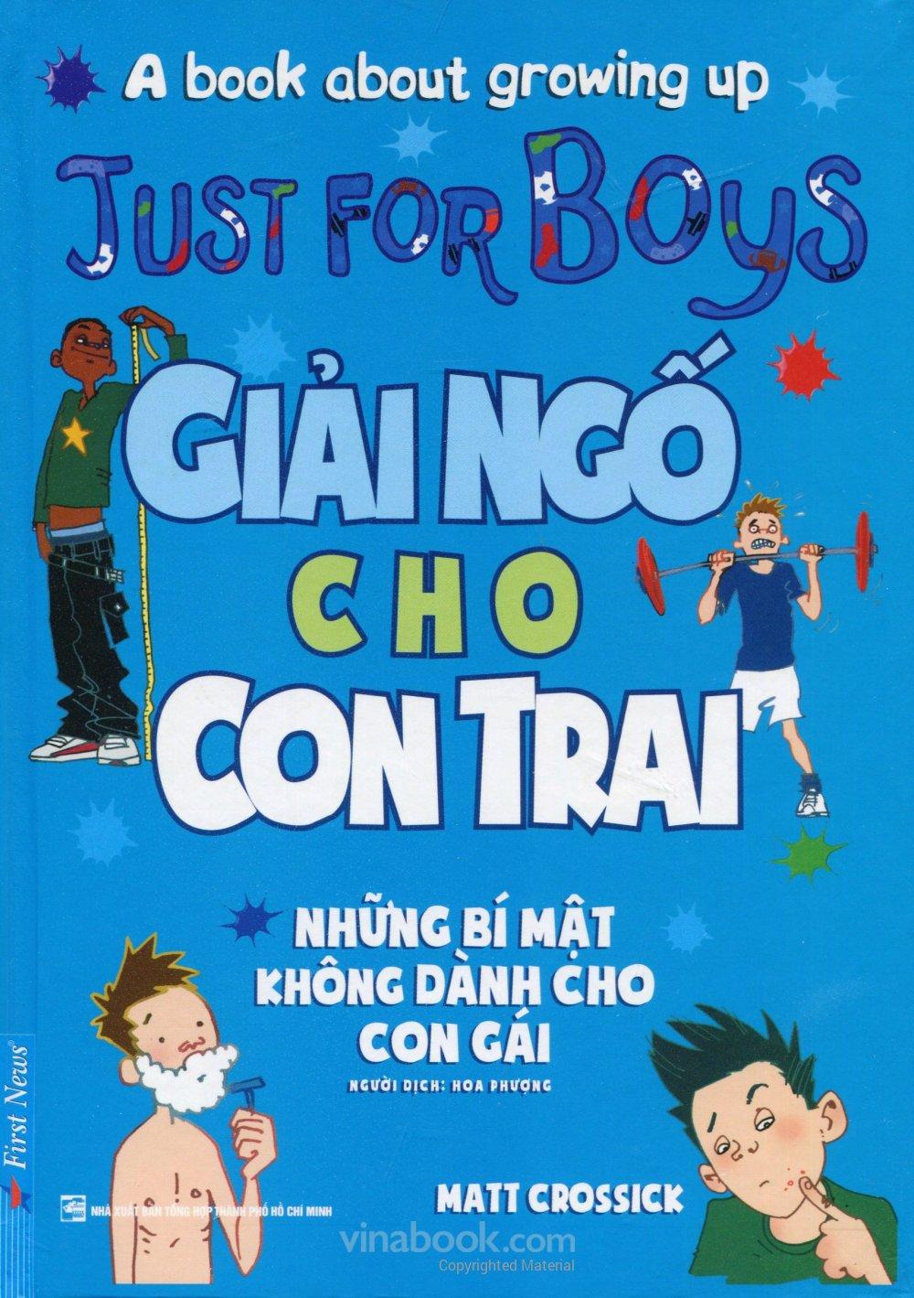 Giải Ngố Cho Con Trai - EBOOK/PDF/PRC/EPUB