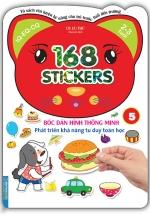Bóc Dán Hình Thông Minh Phát Triển Khả Năng Tư Duy Toán Học - 168 Sticker (Quyển 5)