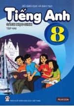 Tiếng Anh 8 Tập 2 - Sách Học Sinh (Không Kèm CD)