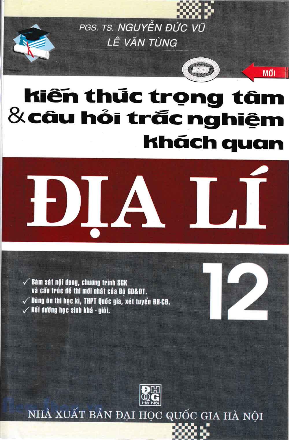 Kiến Thức Trọng Tâm Và Câu Hỏi Trắc Nghiệm Khách Quan Địa Lý 12 - EBOOK/PDF/PRC/EPUB