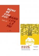 Combo Bóc Lớp Vỏ Cứng, Dệt Lưới Che Lưng + Đừng Để Cảm Xúc Đánh Lừa Lý Trí (Bộ 2 Cuốn)
