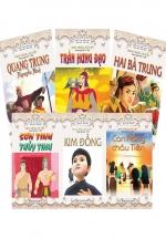 Combo Anh Hùng Sử Việt - Song Ngữ Việt Anh (Bộ 6 Cuốn)