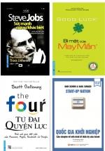 Combo Sách Câu Chuyện Kinh Doanh Cảm Hứng (Bộ 4 Cuốn)