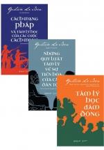 Combo Sách Tâm Lý Học Của Tác Giả Gustave Le Bon (Bộ 3 Cuốn)