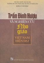 Trần Đình Hượu Và Nghiên Cứu Nho Giáo Việt Nam Hiện Đại
