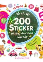 Bộ Sưu Tập 200 Sticker - Số Đếm, Hình Dạng, Màu Sắc