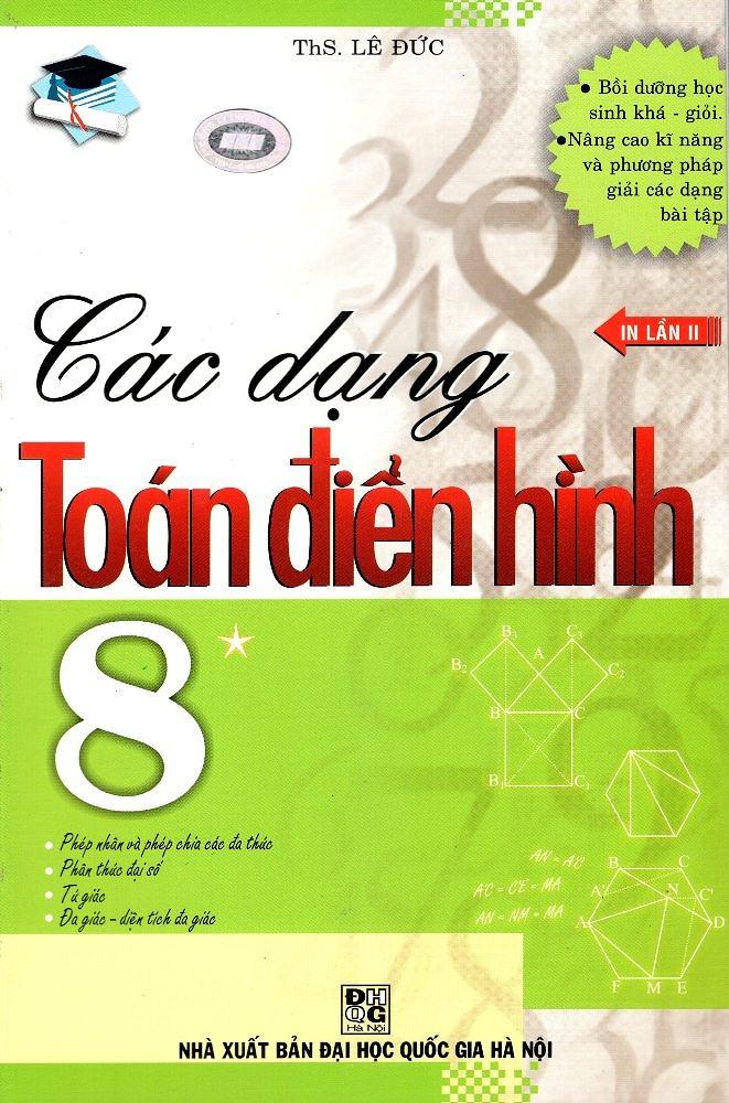 Các Dạng Toán Điển Hình 8 Tập 1 - EBOOK/PDF/PRC/EPUB