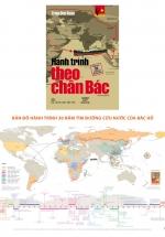 Combo Hành Trình Theo Chân Bác + Bản Đồ Hành Trình 30 Năm Tìm Đường Cứu Nước Của Bác Hồ