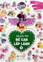 My Little Pony - Bộ Sưu Tập Đề Can Lấp Lánh - Quyển 1
