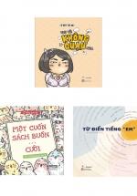 """Combo Vui Vẻ Không Quạu Nha + Vui Vẻ Không Quạu Nha 2 - Một Cuốn Sách Buồn… Cười  + Từ Điển Tiếng """"Em"""" (Bộ 3 Cuốn)"""