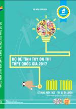Bộ Đề Tinh Túy Ôn Thi THPT Quốc Gia Môn Toán 2017