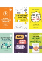 Combo Bộ Sách Kỹ Năng Giúp Bạn Thành Công (Bộ 6 Cuốn)