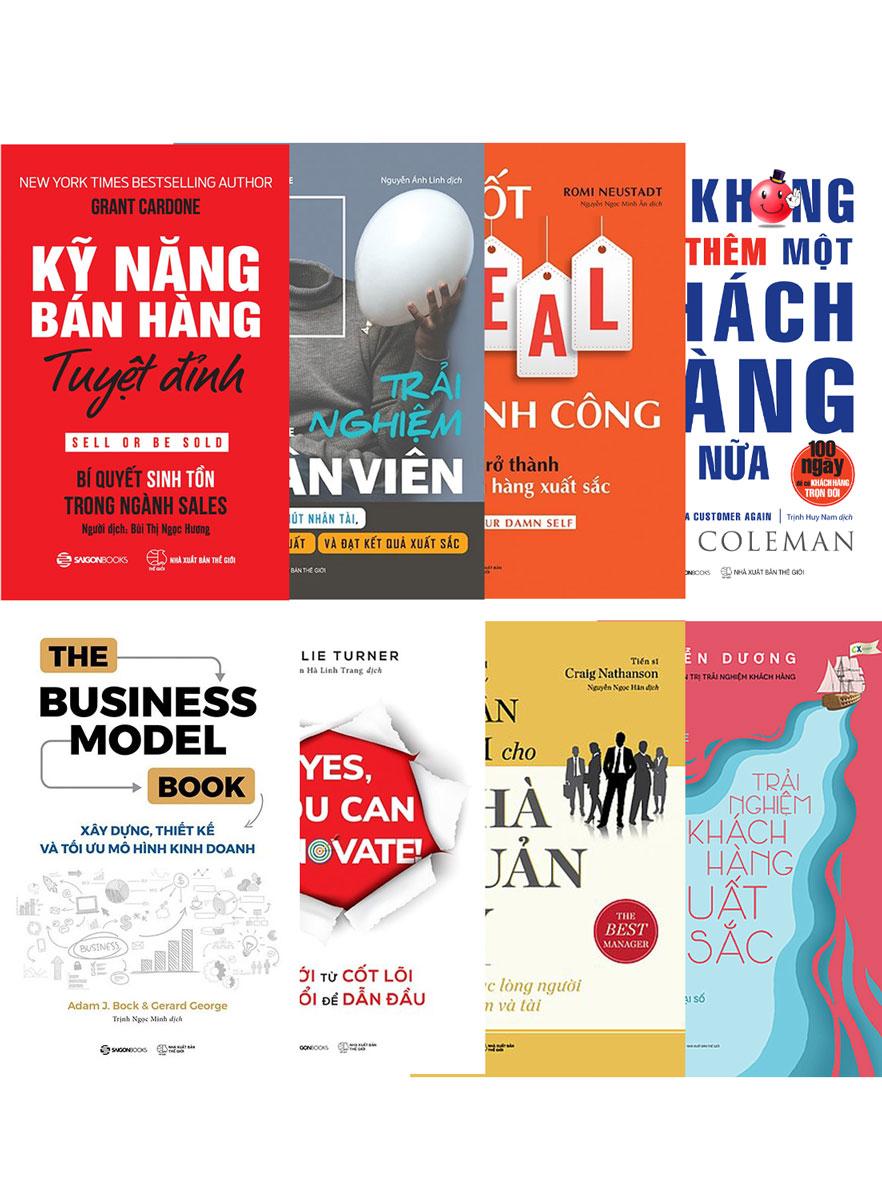 Combo Những Quyển Sách Kinh Tế Năm 2021 Shark Vương Khuyên Đọc (Bộ 8 Cuốn)