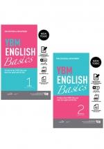 Combo YBM English Basics - Tài Liệu Tự Học Toeic Hiệu Quả Dành Cho Người Mới Bắt Đầu (Bộ 2 Quyển)