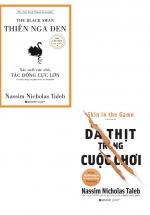 Combo Sách Thiên Nga Đen + Da Thịt Trong Cuộc Chơi (Bộ 2 Cuốn)