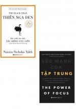 Combo Sách Thiên Nga Đen + Sức Mạnh Của Tập Trung (Bộ 2 Cuốn)
