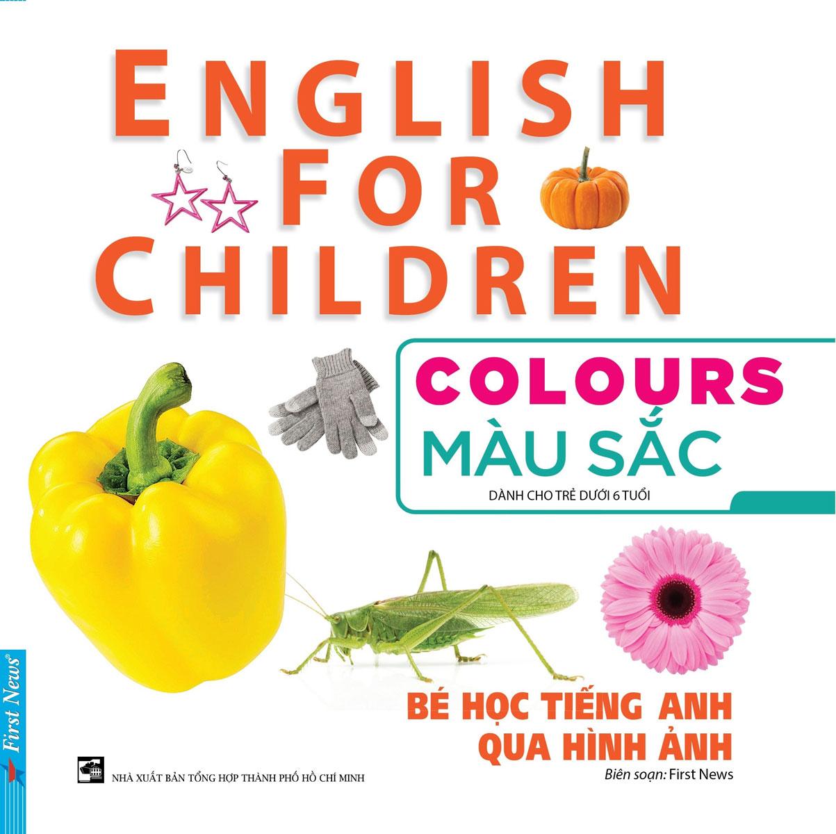 Bé Học Tiếng Anh Qua Hình Ảnh - Màu Sắc