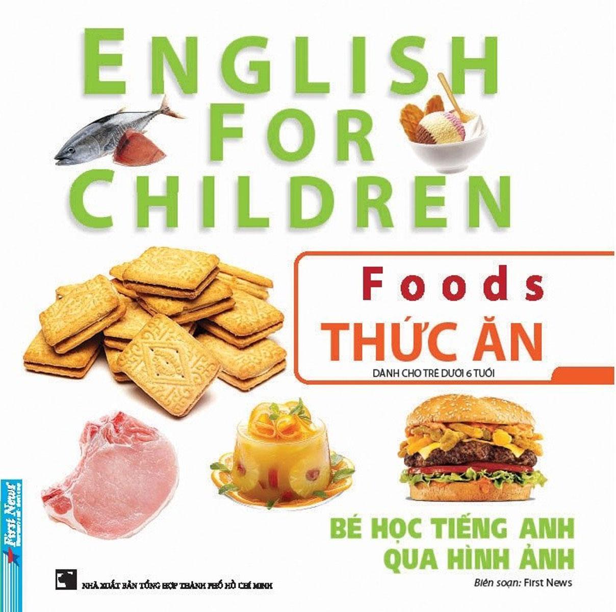 Bé Học Tiếng Anh Qua Hình Ảnh - Thức Ăn
