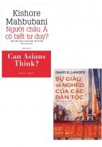 Combo Sách Người Châu Á Có Biết Tư Duy? + Sự Giàu Và Nghèo Của Các Dân Tộc (Bộ 2 Cuốn)
